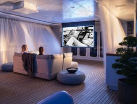 55m Charter Yacht TURQUOISE Completes Major Interior Refit