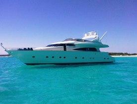 Motor Yacht 'White Fang' Ibiza Charter Deal
