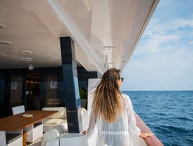 Superyacht ANDREA opens for Greece yacht charters