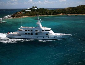 53M superyacht MIZU: Yacht charter special available in the Bahamas