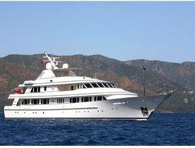 Superyacht BROADWATER undergoes major refit in preparation for joining charter fleet