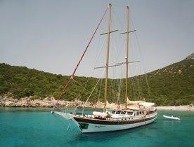 Luxury Gulet 'Kaya Guneri II' Takes Bookings for Croatia Charters in Summer 2017