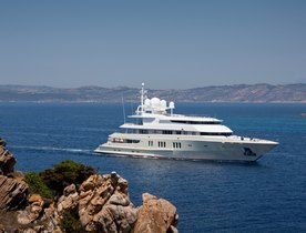 Lurssen Yacht 'Coral Island' Joins the Global Charter Fleet as Superyacht 'Coral Ocean'