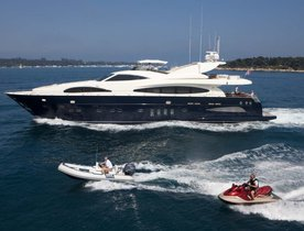 M/Y 'CELTIC DAWN' Available in the South of France