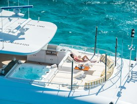 Trinity Superyacht 'Amarula Sun' Opens for New Year's Charter in the Bahamas