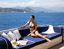 Special 'No rain guarantee' offer on Mediterranean yacht charters with luxury yacht 'Lady Amanda'