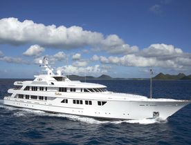 Superyacht CALLISTO now available for Caribbean charter
