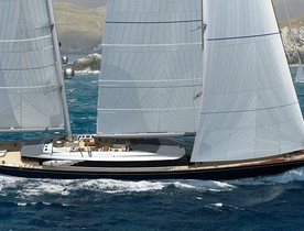 Brand New 70m Perini Navi Sailing Yacht SYBARIS Confirmed For Monaco Yacht Show 2016