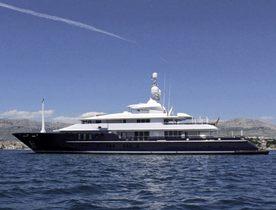 Charter Yacht 'Triple Seven' Renamed LEXA