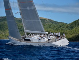 Charter yacht SPIIP wins 2018 Superyacht Challenge Antigua