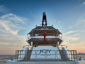 Feadship Motor Yacht JOY Signs Up to Dubai Boat Show 2017
