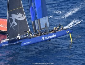 Swedes Sail to Success in Toulon Leg of the America's Cup World Series