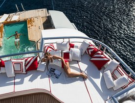 Dunya Motor Yacht AXIOMA Drops Rate for Charters in Early July