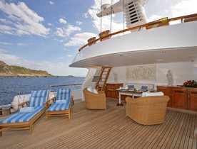 Luxury Motor Yacht 'BLUE ATTRACTION' has No Delivery Fees in the Adriatic
