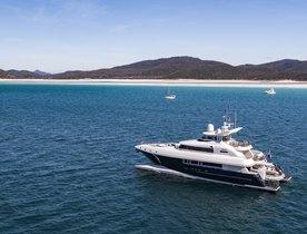 Whitsundays yacht charter available over New Year's Eve with luxury catamaran SPIRIT