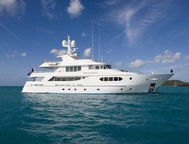 M/Y PERLE BLEUE Nominated for Best Refitted/Rebuilt World Superyacht Award