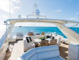 Motor Yacht 'My My My' Offers a Last-Minute Easter Escape