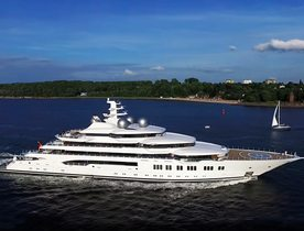 106m superyacht AMADEA to attend Monaco Yacht Show 2019