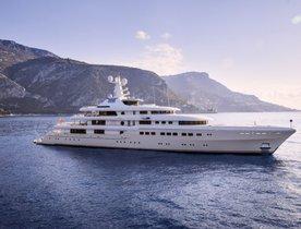 82m Abeking & Rasmussen superyacht KIBO joins the global charter market