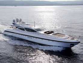 Mega Yacht AFRICAN CAT Reduces Rates by 10% in June and September
