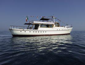 Rebuilt Classic Yacht EMERALD Joins Charter Fleet