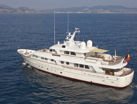 CORNELIA Charter Yacht Has Last Minute Availability at Reduced Rates