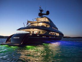 Superyacht NAMELESS Available for Monaco Grand Prix 2014