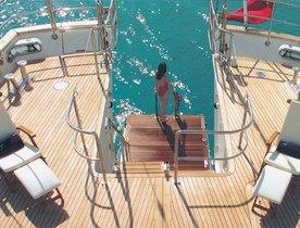 Charter Yacht  'Felicita West' Sold & Renamed 'Spirit of the C's'
