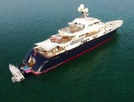 Superyacht 'Cocoa Bean' Joins Global Charter Fleet in the Mediterranean