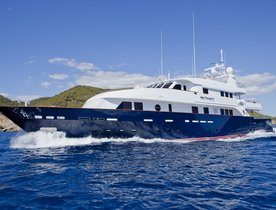 Superyacht 'BIG CHANGE II' Lowers Christmas Charter Rate