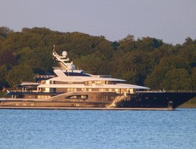 Lurssen Charter Yacht SOLANDGE Undergoes Sea Trials