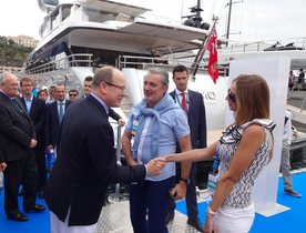 Monaco Yacht Show 2014 Opens