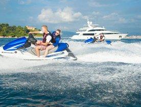 Benetti superyacht DYNAR offers late-summer charter deal in the Mediterranean
