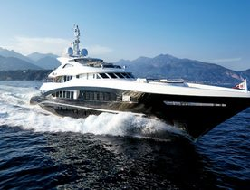 Heesen superyacht ROCKET enters the charter market