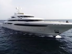 Video: 85m superyacht O'PTASIA during sea trials in Greece