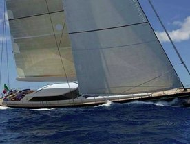 State of Grace Sail Yacht New to the Charter Market
