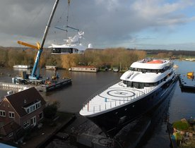 Video - Largest Feadship Superyacht 'Hull 808' Undergoing Final Works