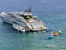 Save 15% on Greece Charters Aboard Luxury Yacht 'My Toy'