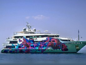10 of the Most Colourful Superyachts Available for Charter