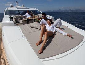 Charter Yacht ALVIUM Still Has Peak Season Availability in Ibiza