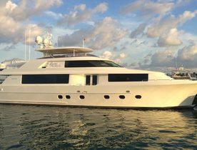 Motor Yacht Black Swan Joins the Global Charter Fleet