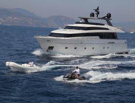 Sanlorenzo Motor Yacht INDIGO Cruises in South East Asia