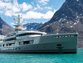 Superyacht CLOUDBREAK: escape on a Norway yacht charter this May