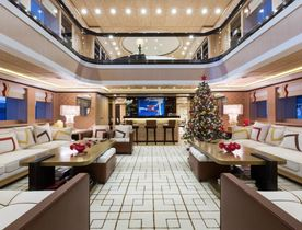 Superyacht AXIOMA opens for Christmas yacht charter