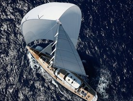 Sailing Yacht HYPERION Open for St Barth's Bucket Charter