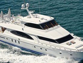 Motor Yacht Restless Signed For Charter