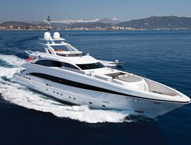 Luxury Yacht JEMS Open for Charter in the Balearics