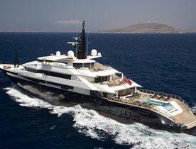 Superyacht 'Alfa Nero' Gets a Winter Make Over