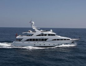Charter Yacht AMINAH Available in Sardinia With No Delivery Fees