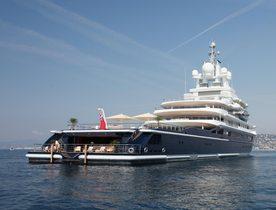 Superyacht LUNA No Longer for Charter